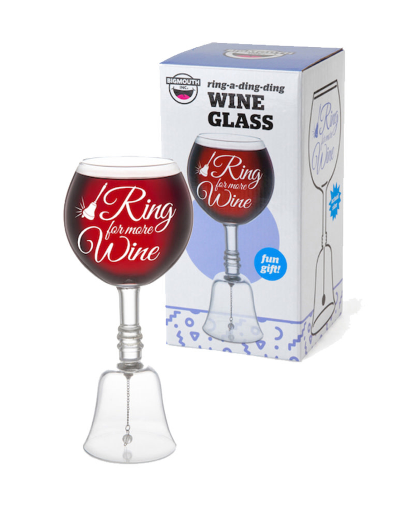Wine Glass ( Ring for more Wine )