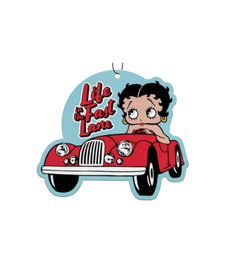 Betty Boop Betty Boop ( Pack of 3 Air Fresheners ) Life in the Fast Lane