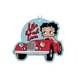 Betty Boop Betty Boop ( Paquet de 3 Désodorisanst pour Voiture ) La vie dans la Voie Rapide