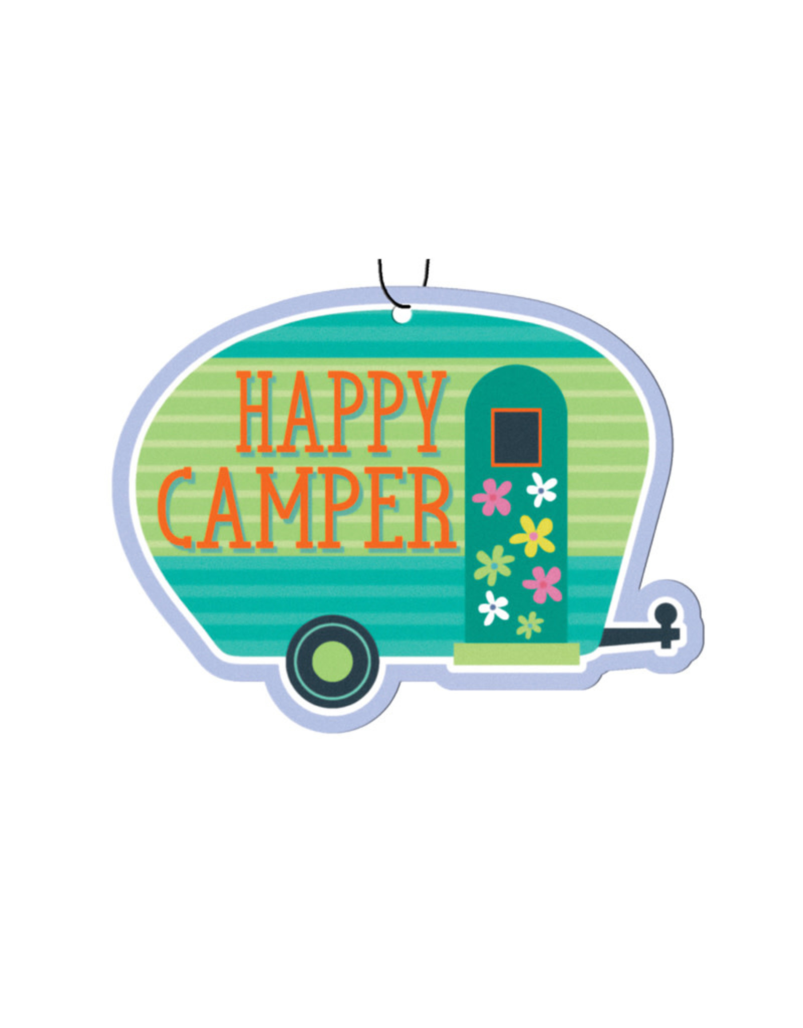 Happy Camper ( Pack of 3 Air Fresheners )