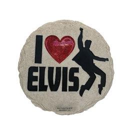 Elvis J'aime Elvis  ( Pierre Décorative )