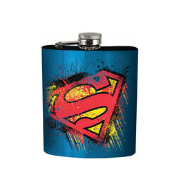 Dc comics Dc Comics ( Flask ) Superman logo