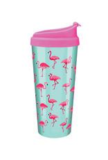 Pink Flamingo ( Acrylic Mug )