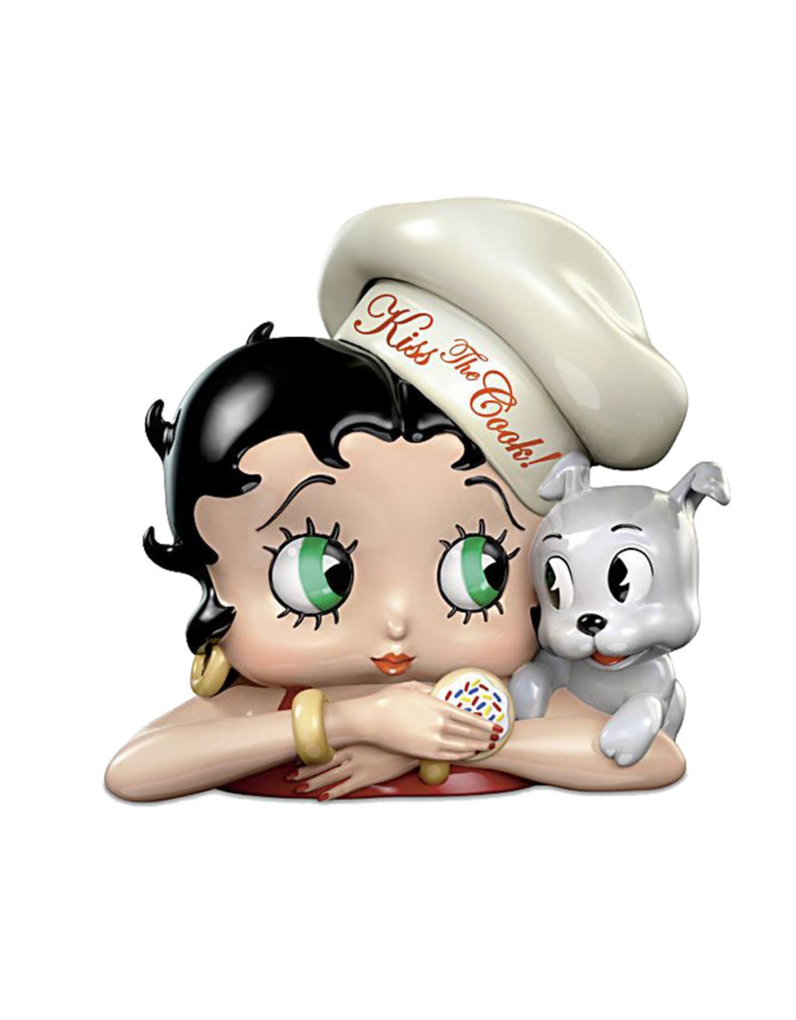 Betty Boop Betty Boop ( Cookie Jar ) Kiss The Cook
