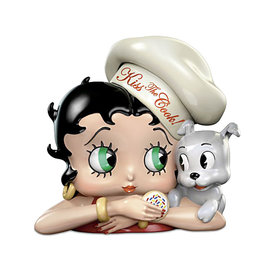 Betty Boop Betty Boop ( Cookie Jar ) Kiss The Cook