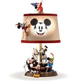 Disney Disney ( Lampe ) Mickey au fils des ans
