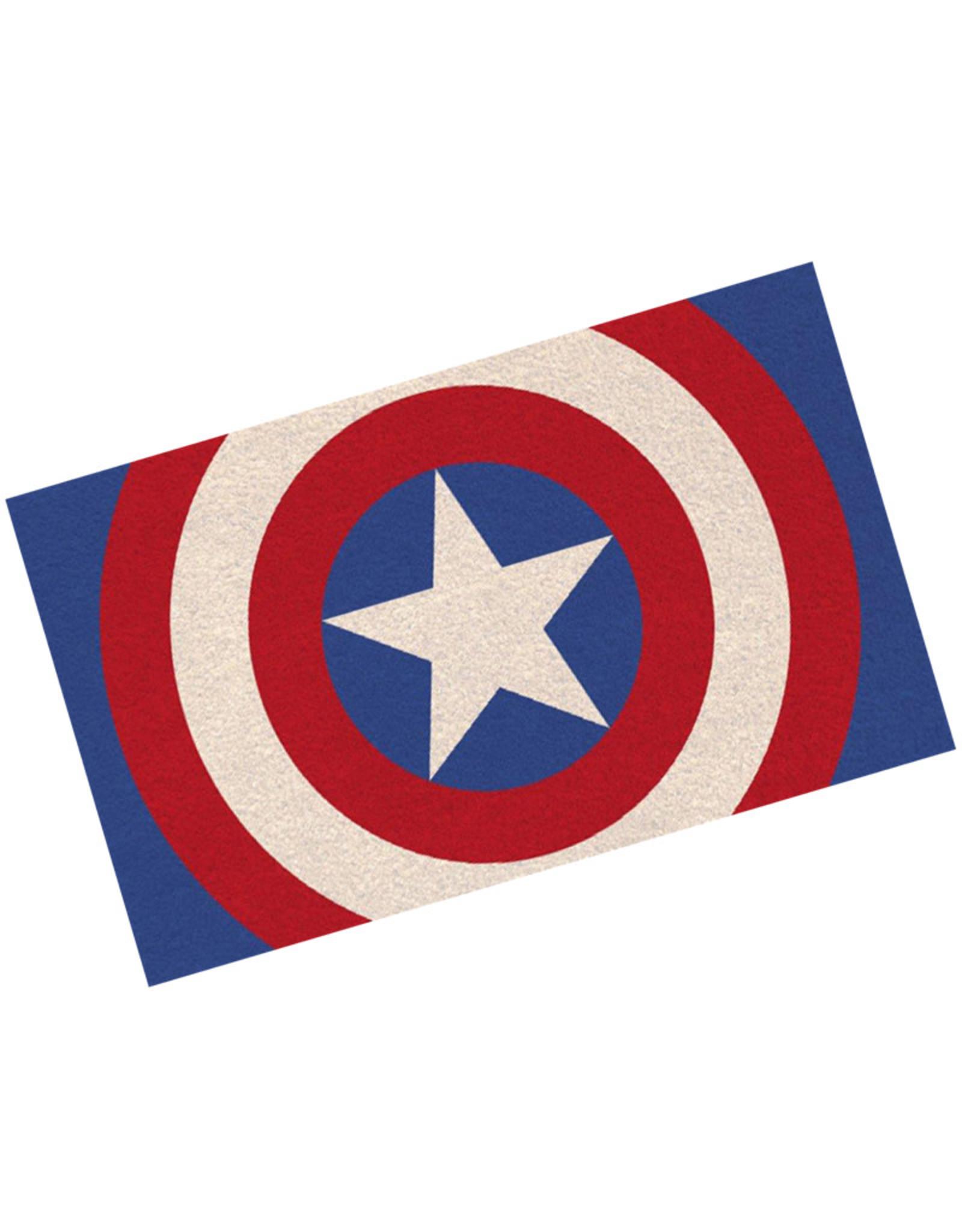Marvel Marvel ( Doormat ) Captain America logo