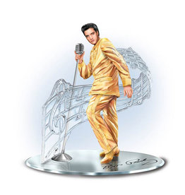Elvis Presley ( Diorama on mirror )