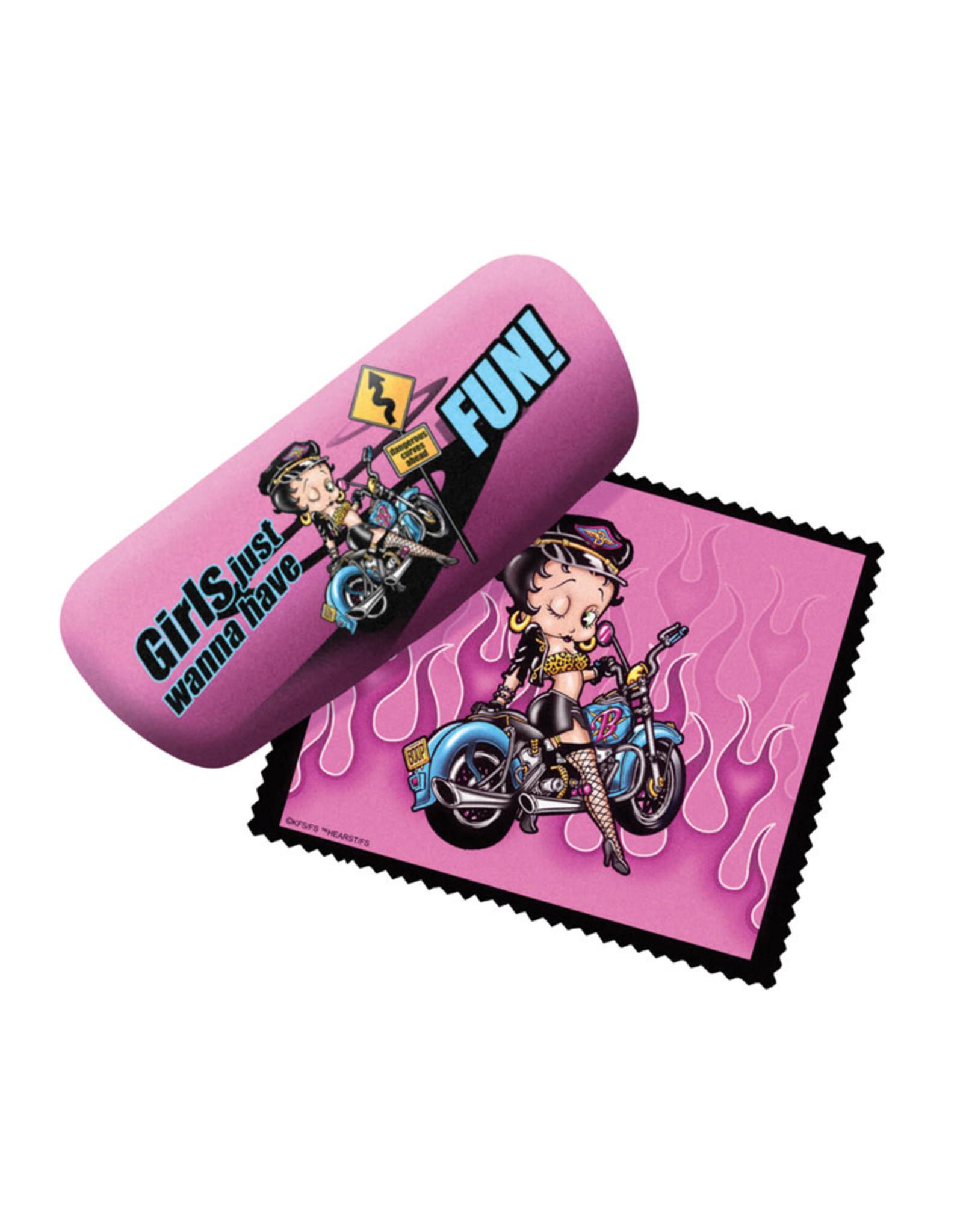 Betty Boop Betty Boop ( Eyeglass Case )  Motorbike