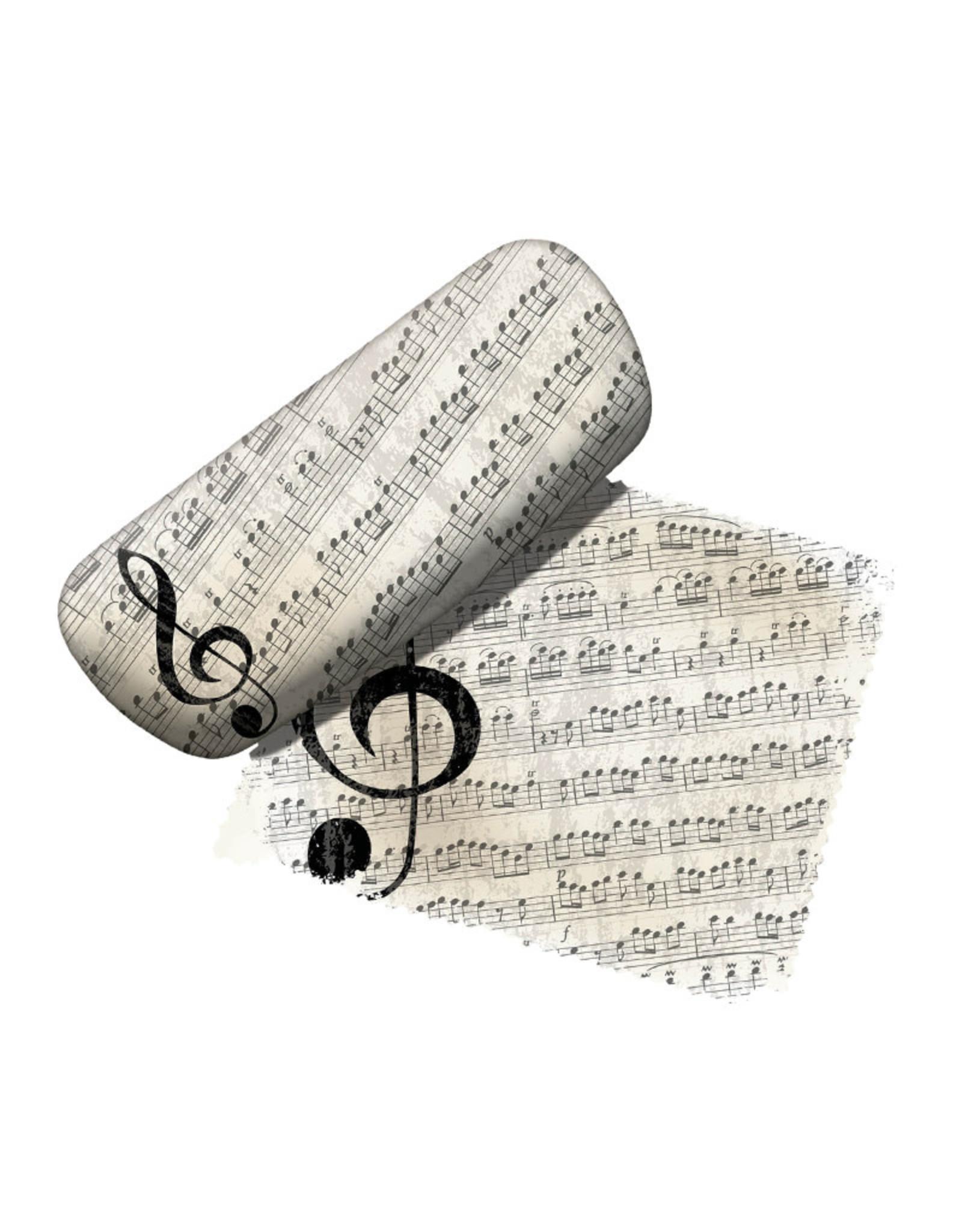 Music Notes ( Eyeglass Case )
