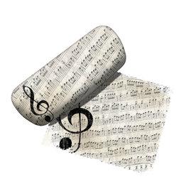 Notes de Musique ( Étui à Lunettes )