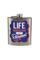 Life Begins at Retirement ( Flask )
