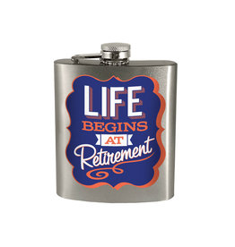 La Vie Commence à la Retraite ( Flasque )