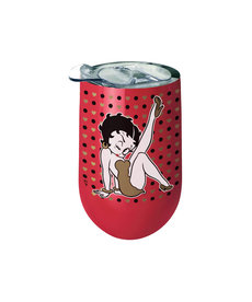 Betty Boop Betty Boop ( Glass with Lid )