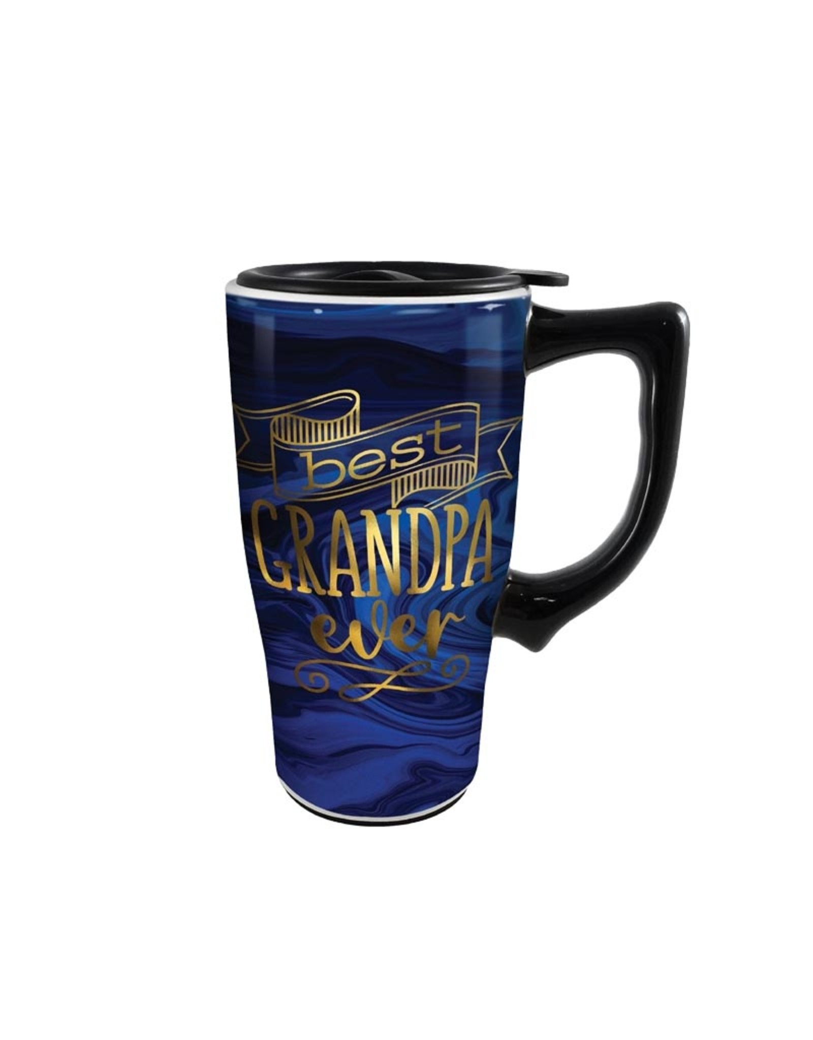 Best Grandpa ( Ceramic Travel Mug )