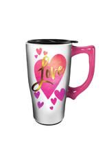 Love ( Ceramic Travel Mug )