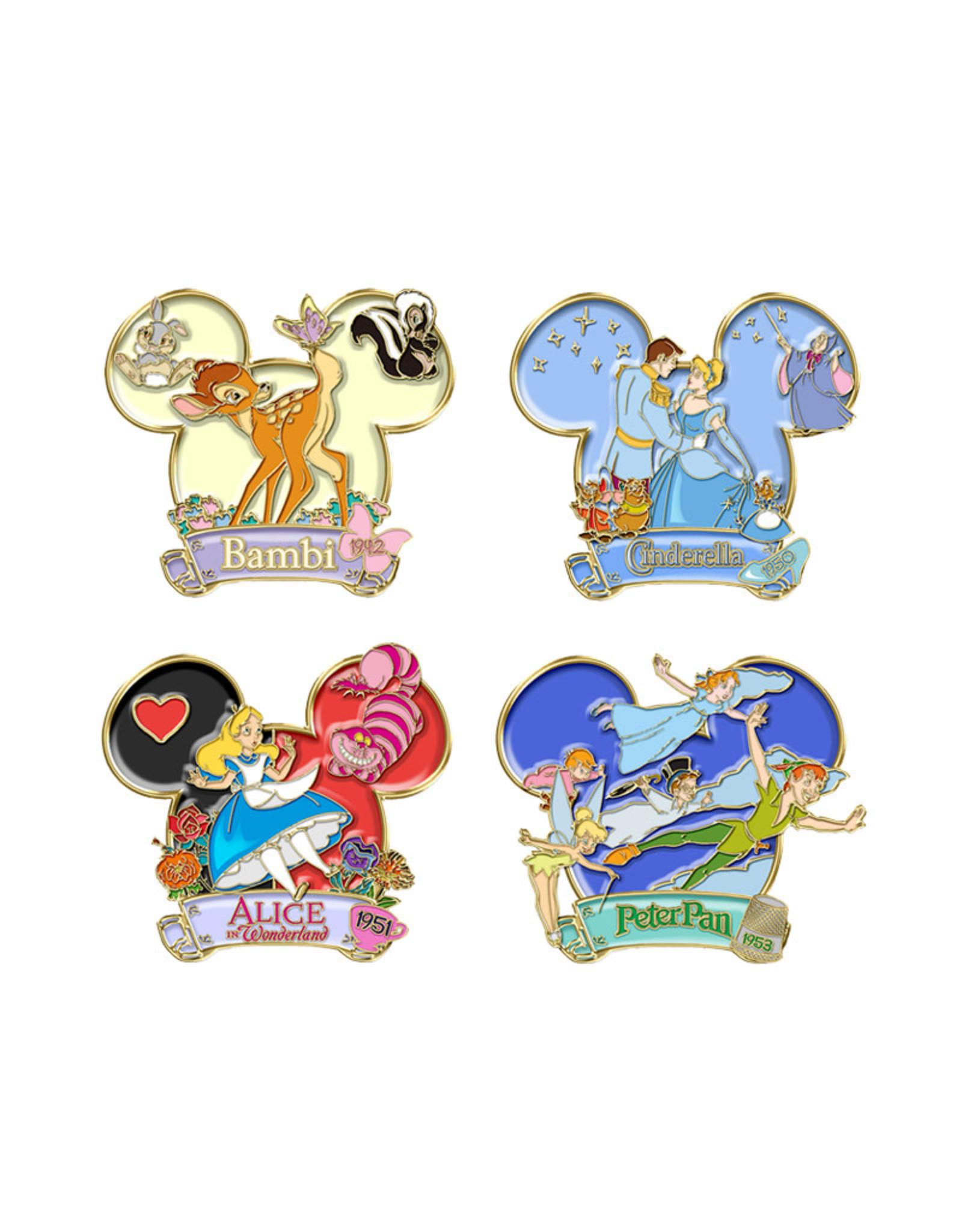 Disney Disney ( Collectable Enamel Pins Set )