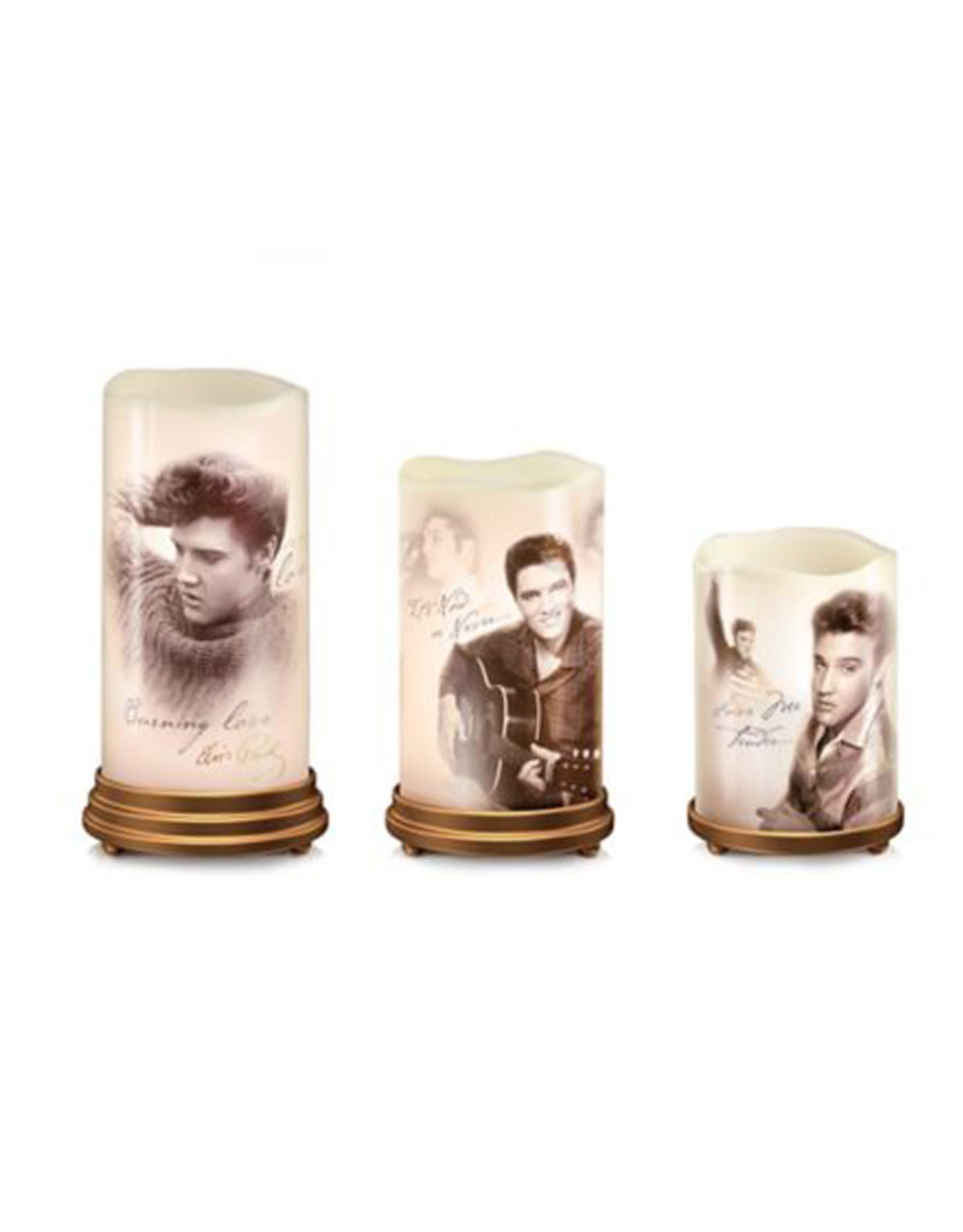 Elvis Elvis Presley ( Set of candles )