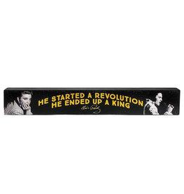 Elvis Elvis Presley ( Déco Plateforme en bois )