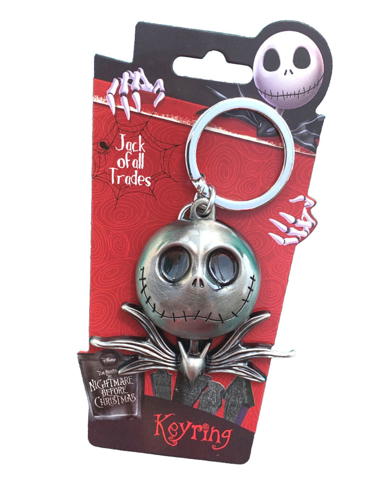 The Nightmare Before Christmas The Nightmare Before Christmas ( Keychain ) Jack Face