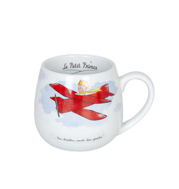 The Little Prince (  Red Airplane Mug )