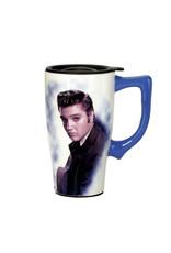 Elvis Elvis ( Ceramic Travel Mug )