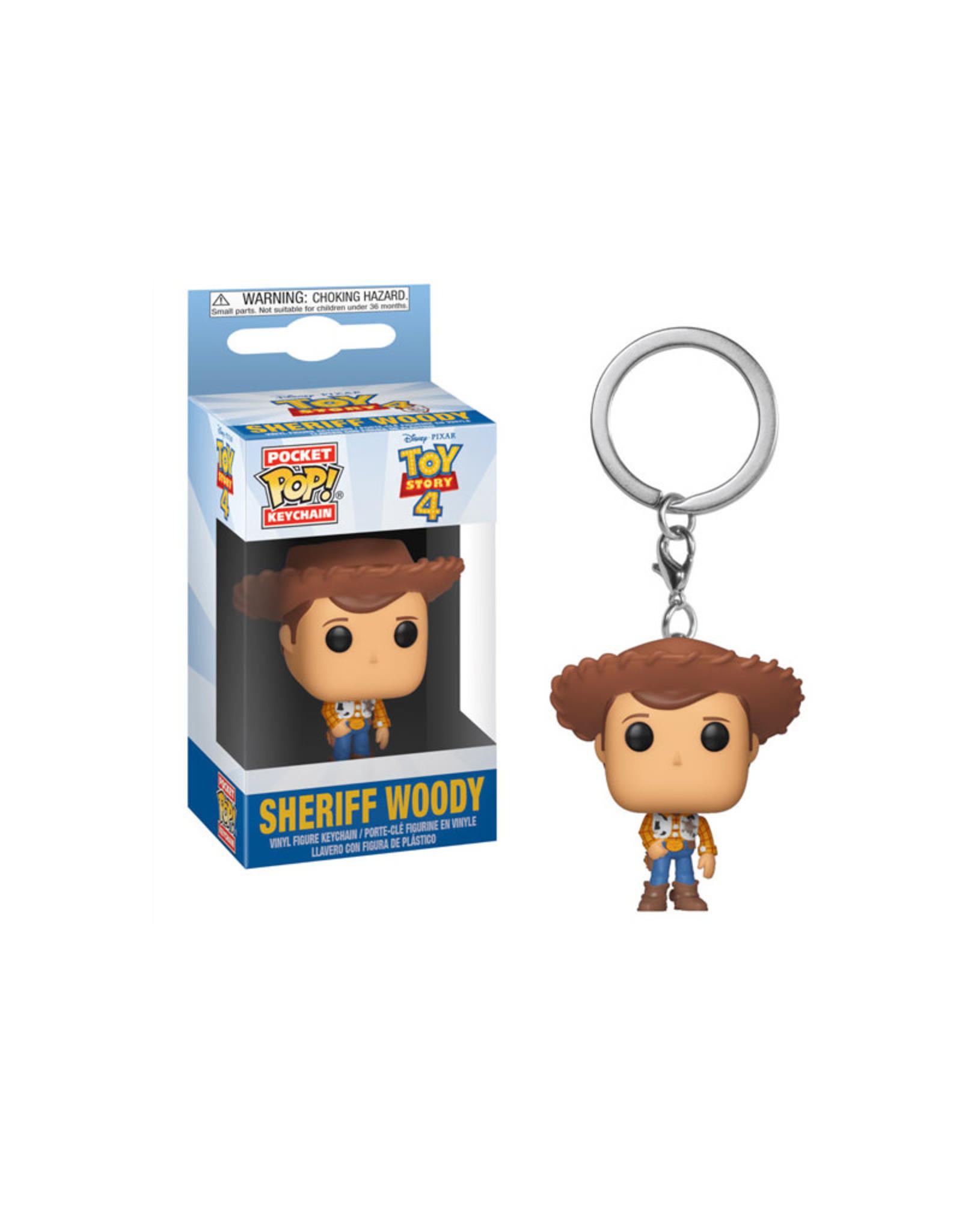 Disney Sheriff Woody ( Funko Pop Keychain ) Disney