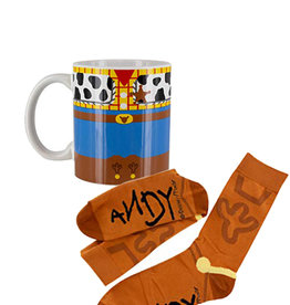 Disney Disney ( Combo Mug & Socks ) Woody