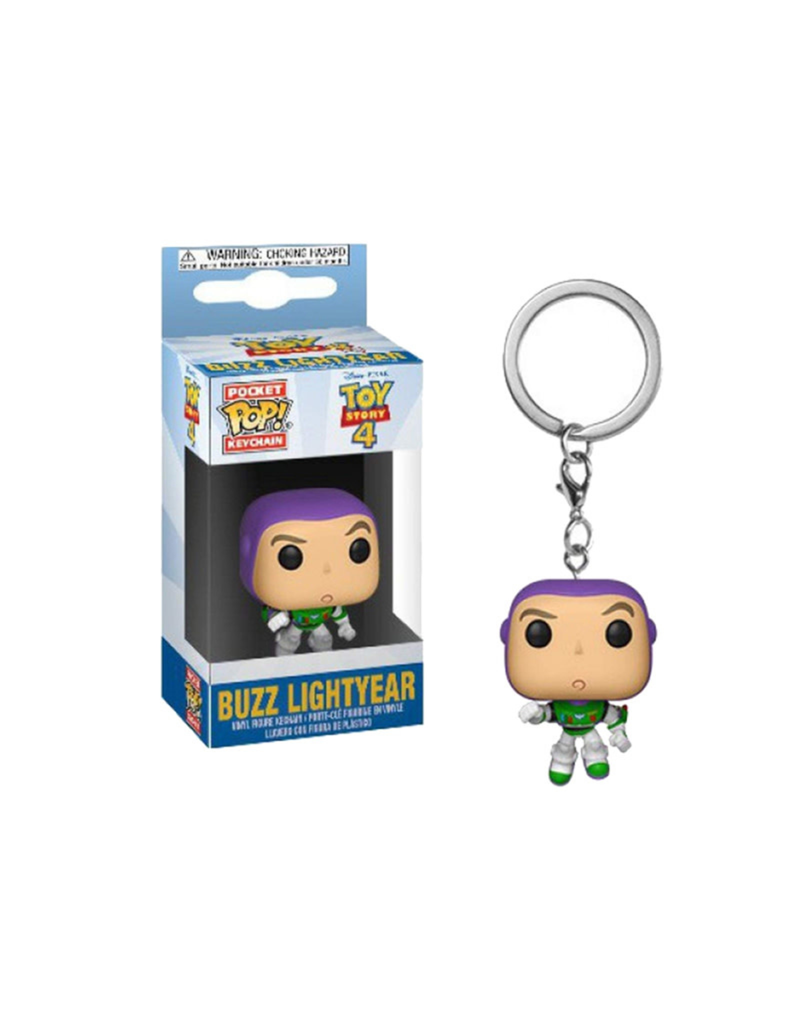 Disney Buzz Lightyear ( Funko Pop Keychain ) Disney