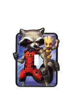 Marvel Marvel ( Light Switch Plate  ) Rocket and Groot