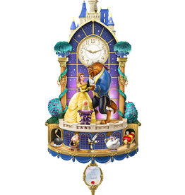 Disney Disney ( Animated Clock ) The Beauty and the Beast