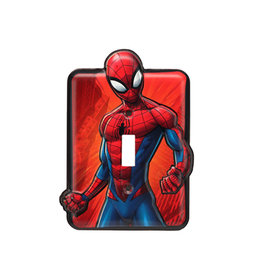 Marvel Marvel ( Plaque d'Interrupteur ) Spider-Man