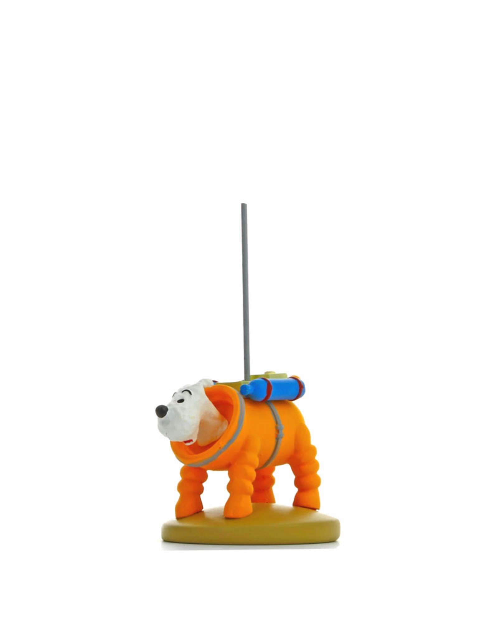 Tintin (  Resin Figurine 9 cm ) Snowy Astronaut