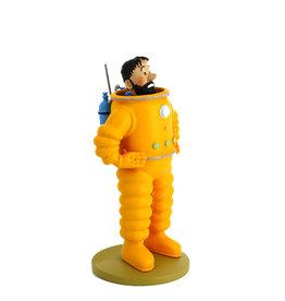 Tintin Tintin ( Resin Figurine 12 cm ) Astronaut Haddock