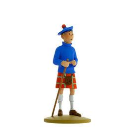 Tintin ( Figurine en Résine 13 cm )  Tintin en Kilt
