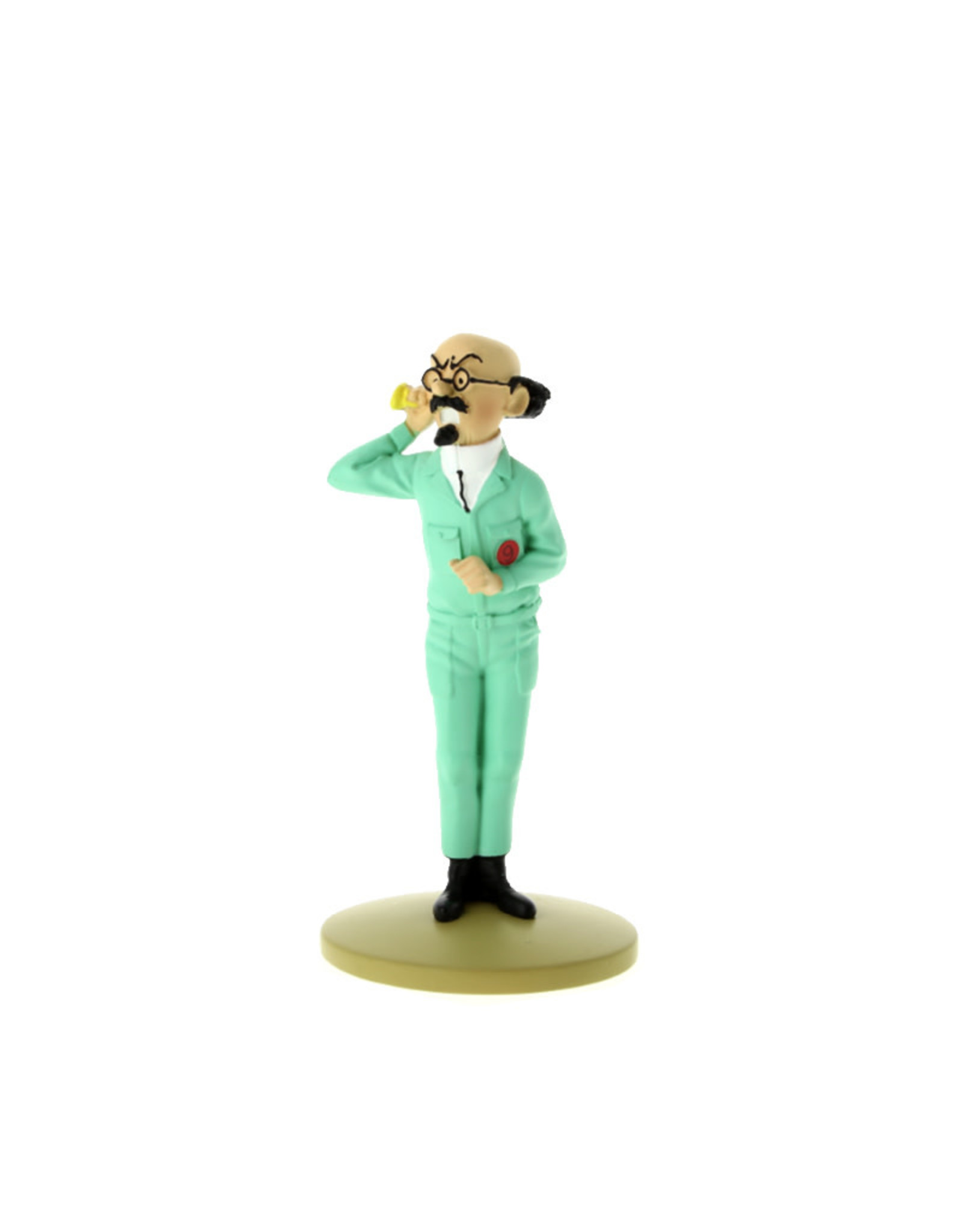Tintin Tintin ( Resine Figurine 12 cm ) Prefessor Calculus