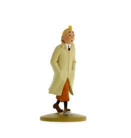 Tintin Tintin ( Figurine en Résine 12 cm )  Tintin en Trench