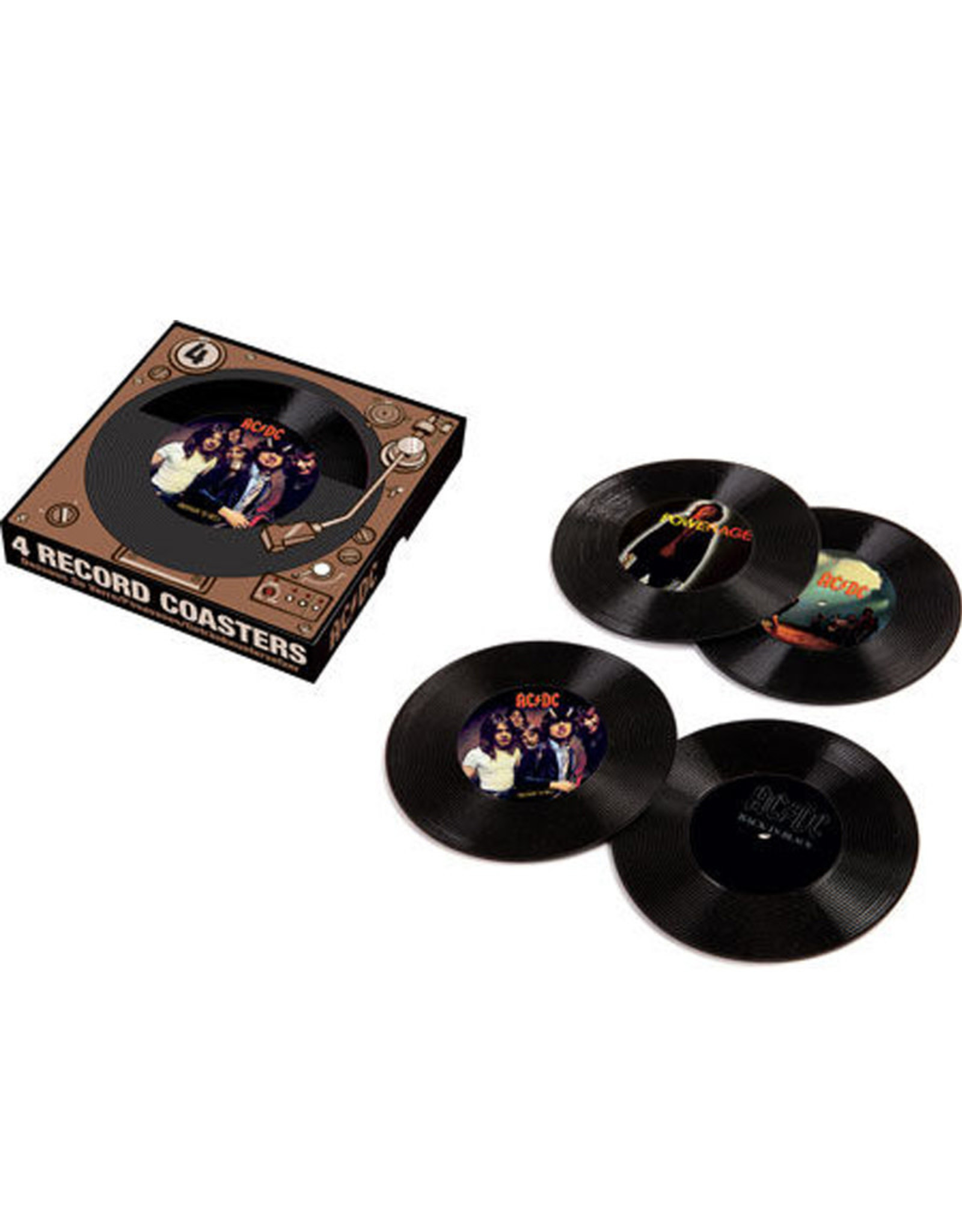 AC / DC ( 4 Sous-Verres ) Vinyle