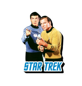 Star Trek ( Aimant ) Spock & Kirk