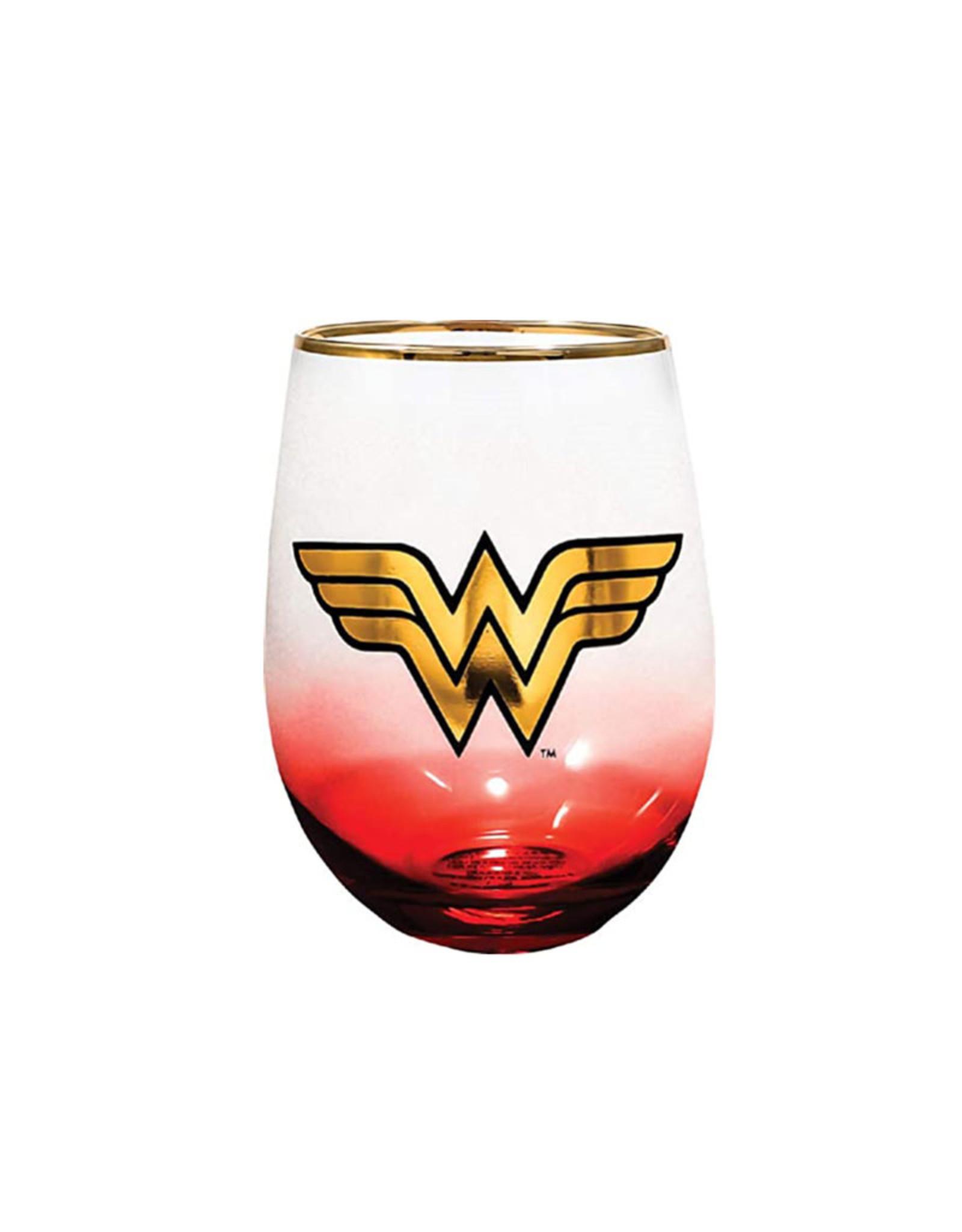 Dc comics Dc Comics ( Wine Glass ) Wonder Woman