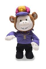 Monkey Singing  ( Cuddle-Barn ) 24K Magic