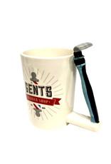 Barber Shop Mug ( Razor )