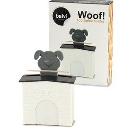 Woof Thoothpick Dispenser ( Dog )