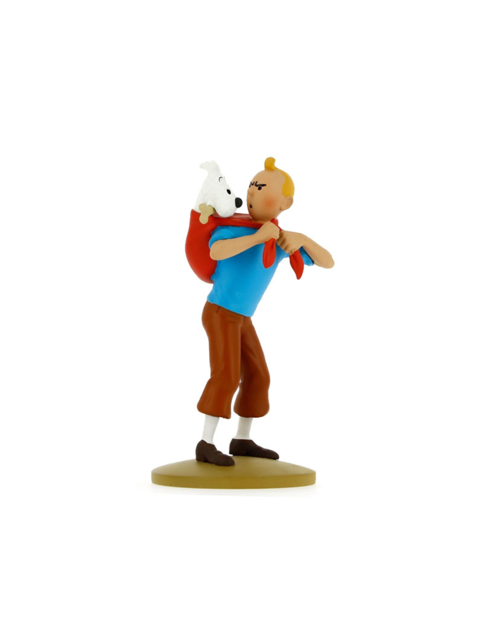 Tintin Tintin (  Resin Figurine 12 cm )  Tintin Fetches Snowy