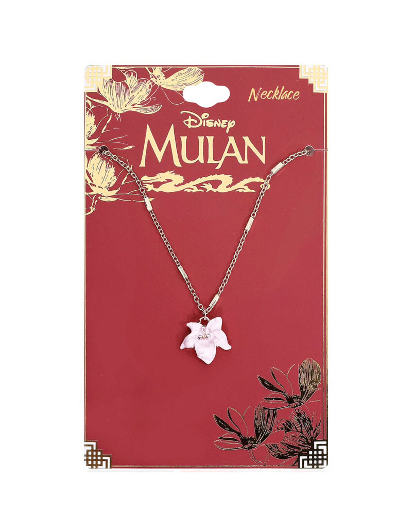 Disney Disney ( Necklace ) Mulan  Cherry Flower