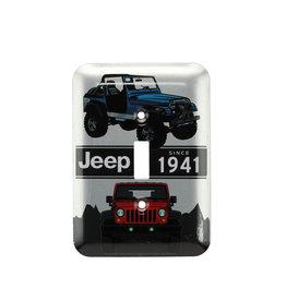 Jeep ( Plaque d'Interrupteur de Lumière )