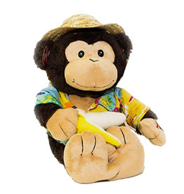 Singing Monkey ( Cuddle Barn ) Banana Boat Day-0