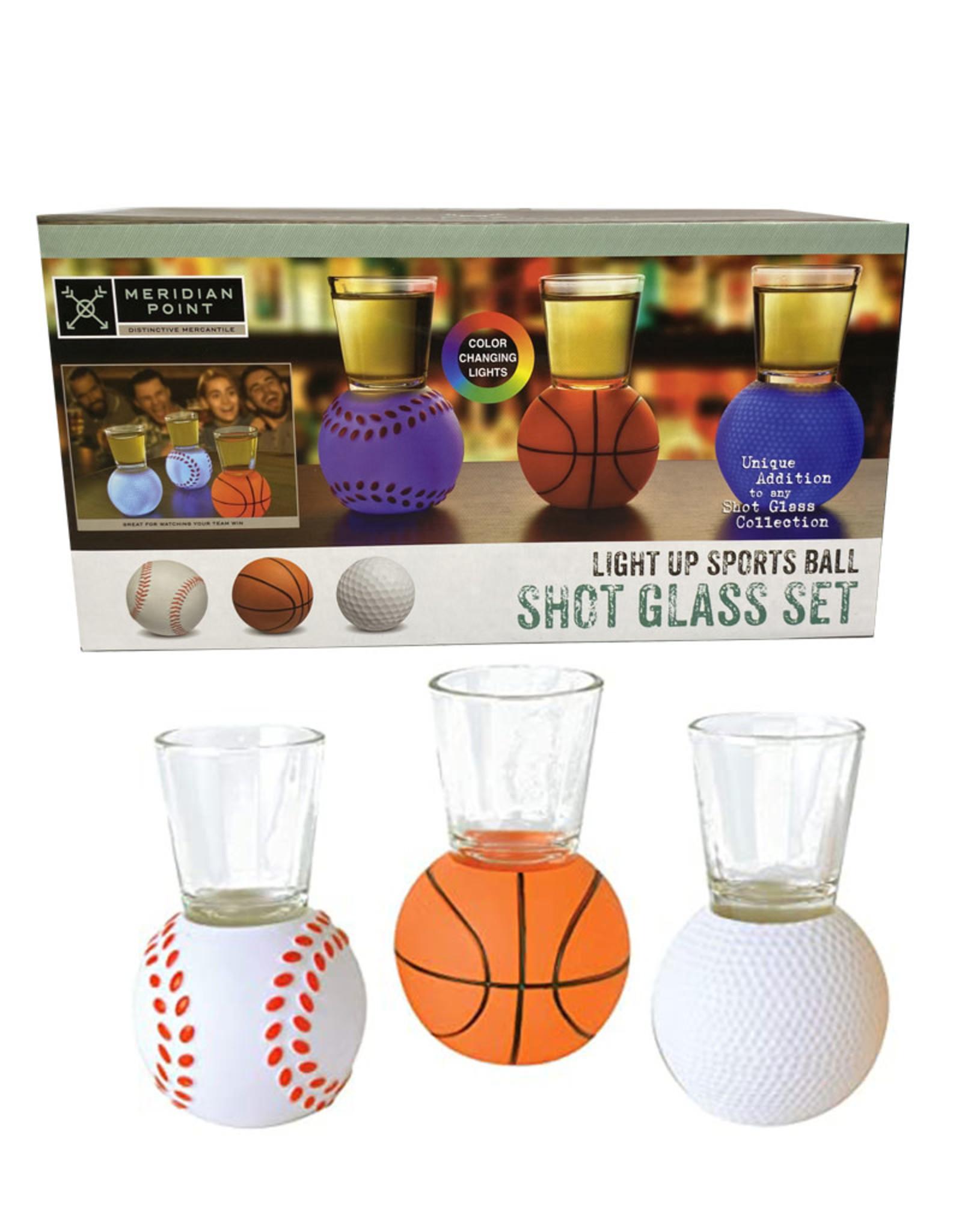 Light Up Shot Glass Set ( Sport )