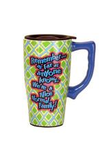 Nice Normal Family ( Ceramic Travel Mug )