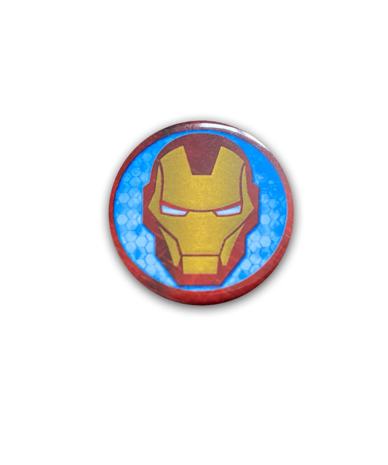 Marvel Marvel ( Button ) Iron Man Icon